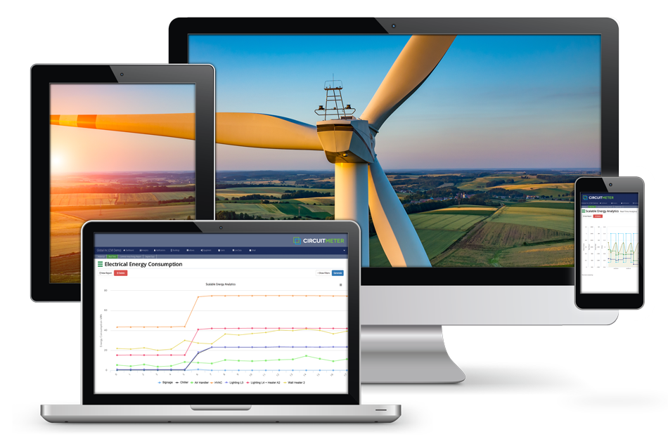 Review electrical energy consumption reporting for any equipment of special interest.